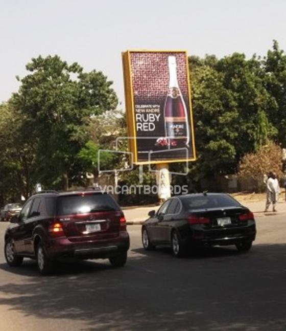 Portrait Unipole, Yakubu Gowon Crescent, Abuja