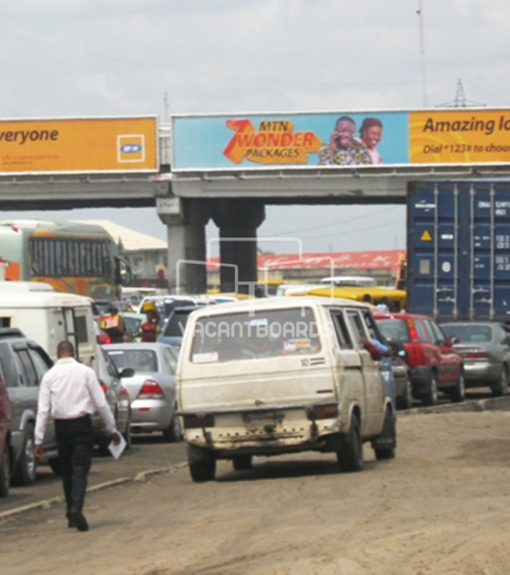 Bridge panel, Badagry Express Way, Lagos