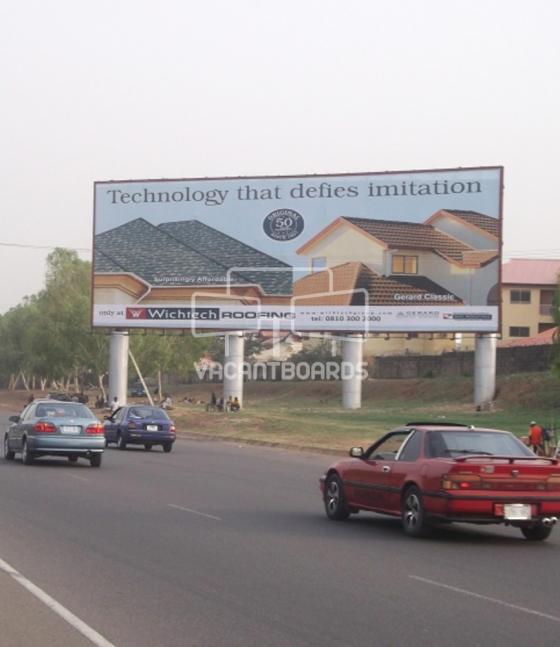 Large format, Sani Abacha Way, Abuja