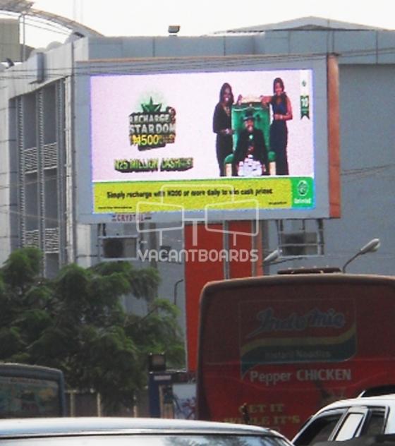 LED Billboard – Herbert Macaulay Way, Abuja