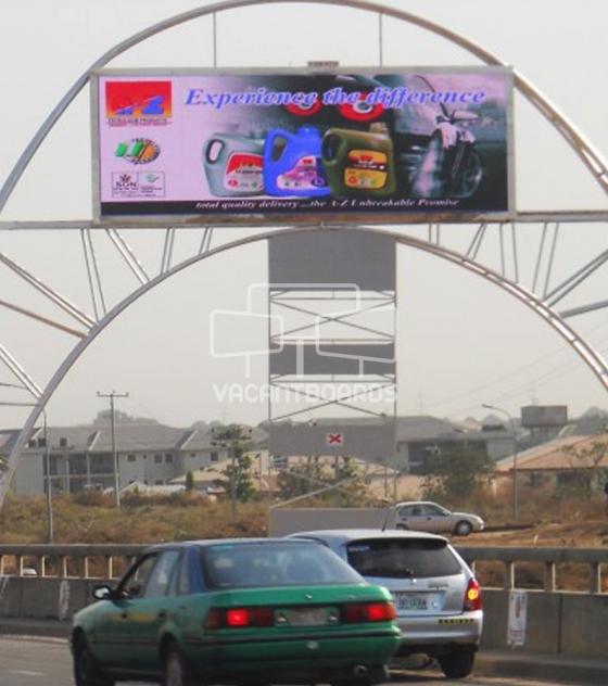 LED Billboard – Airport Road, Abuja