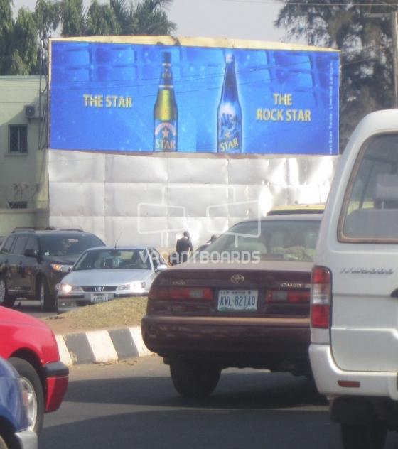 LED Billboard – Shehu Shagari Way, Abuja