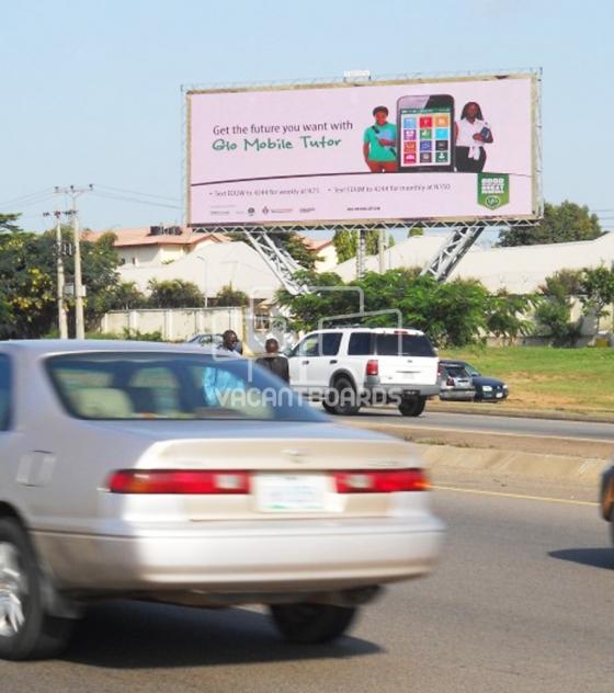 LED Billboard – Nnamdi Azikiwe Way, Abuja