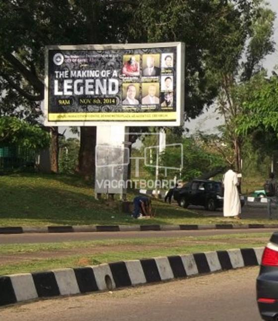 Backlit Billboard, Tafawa Balewa Way, Abuja