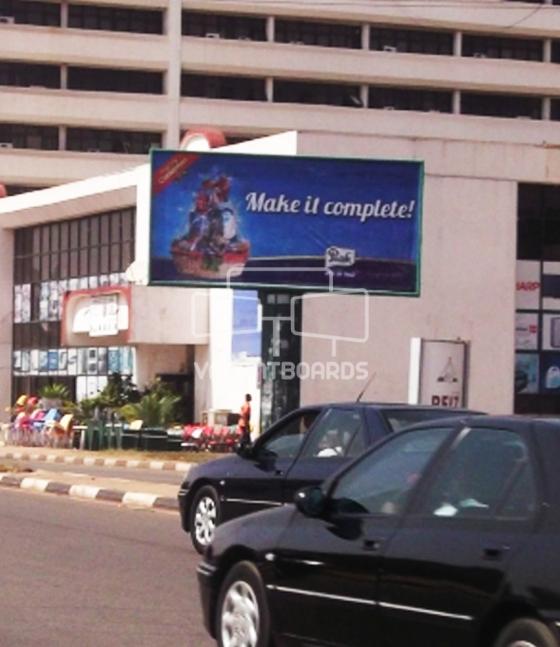 Backlit Billboard, Independent Avenue, Abuja