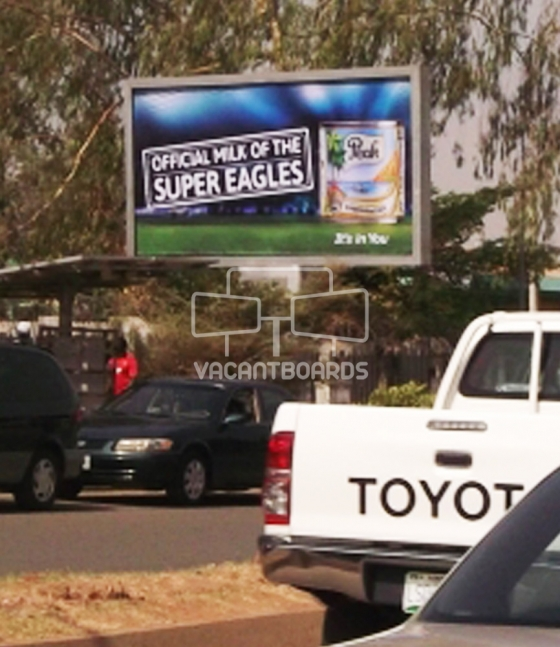 Backlit Billboard Ademola Adetokunbo, Abuja