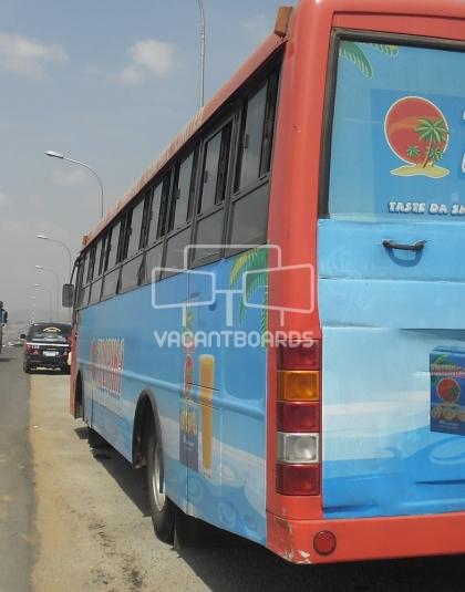 Bus Transit advertisement, Abuja
