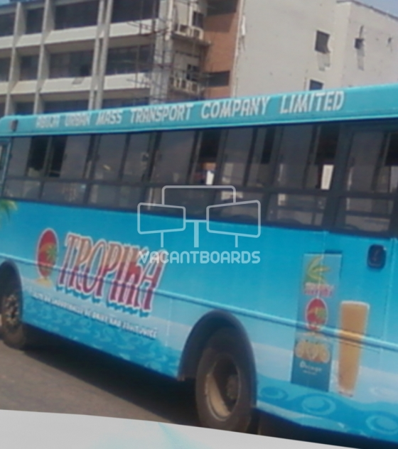 Bus Transit Advertising, Abuja