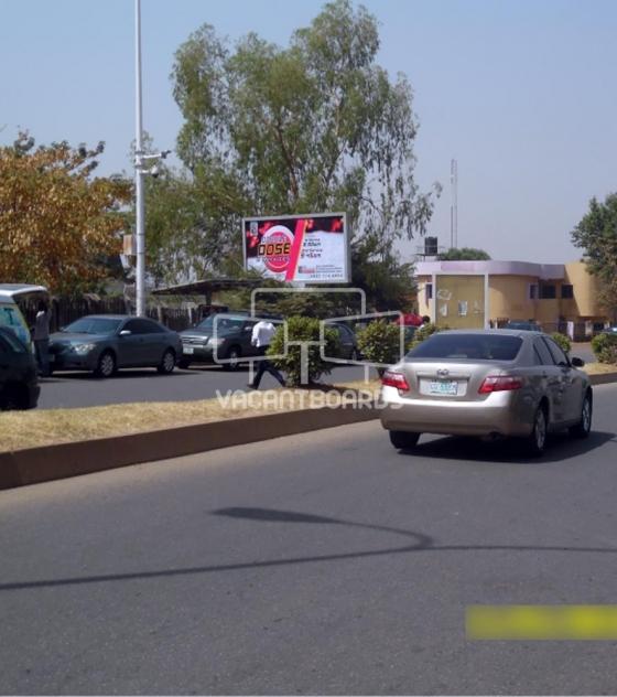 Backlit Billboard, Ademola Adetokunbo Crescent, Wuse 2, Abuja