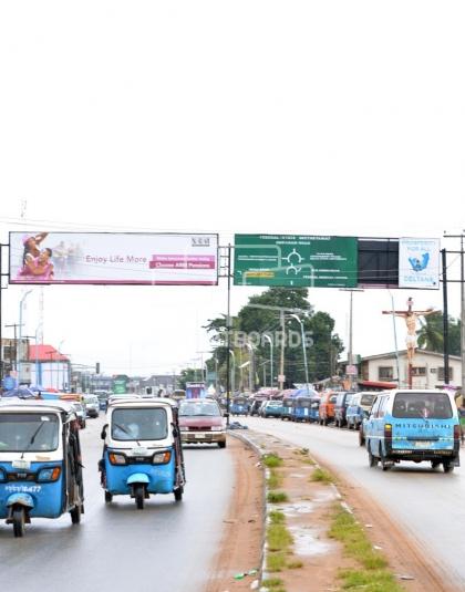 Directional Gantry Billboard - Okpanam, Asaba