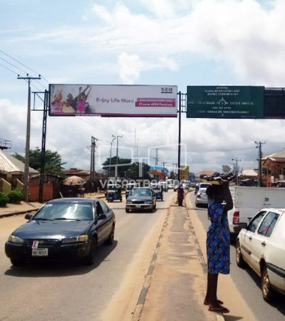 Directional Gantry Billboard – Asaba FTF Onitsha