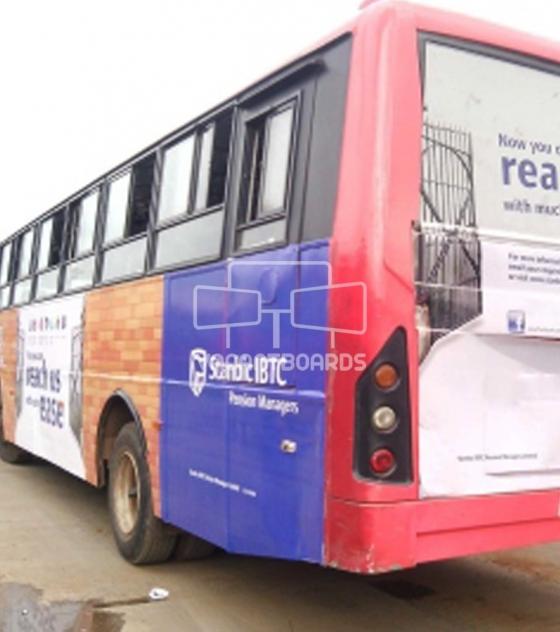 Bus Transit Advertising, Abuja