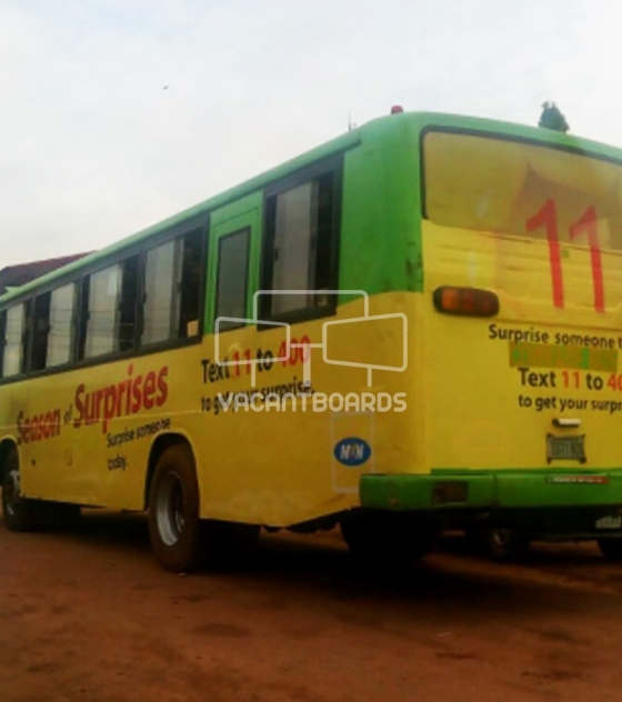 BRT Transit Advertising – Ring Road-Agbor Park, Edo