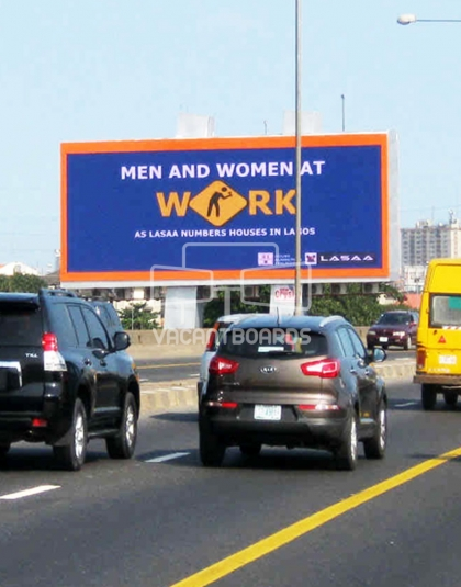 LED Billboard, Eko Bridge, Lagos