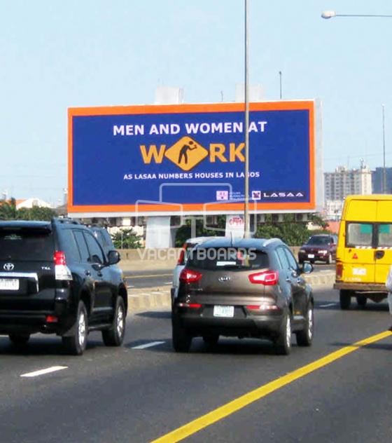 LED Billboard, Eko Bridge, Lagos