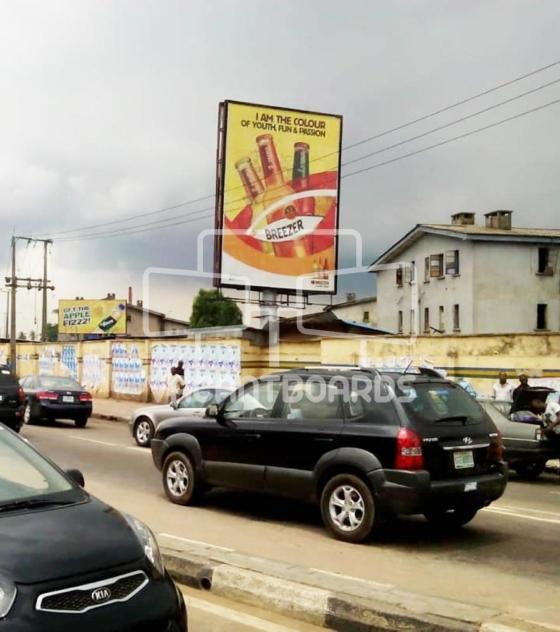 Portrait Billboard – Mobolaji Bank Anthony Way, Ikeja, Lagos
