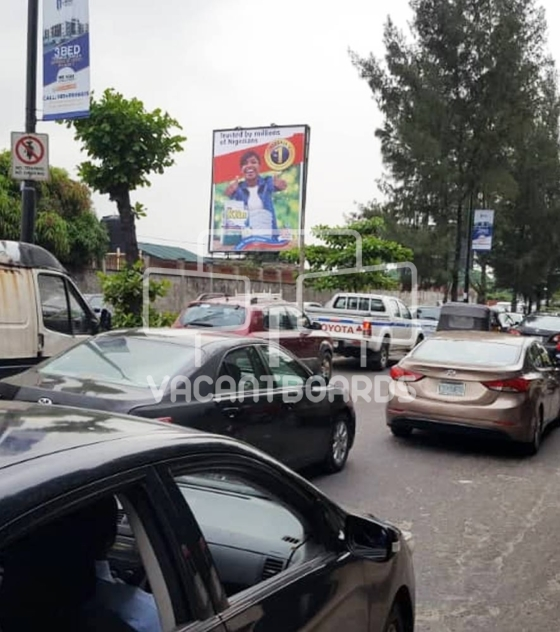 Portrait Billboard – Ahmadu Bello Way Bonny Camp, Victoria Island