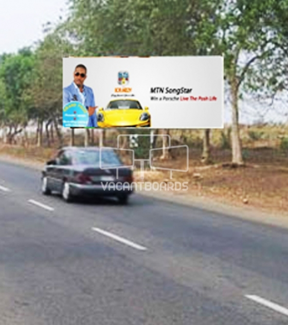 Backlit Billboard – Bill Clinton Drive, Abuja