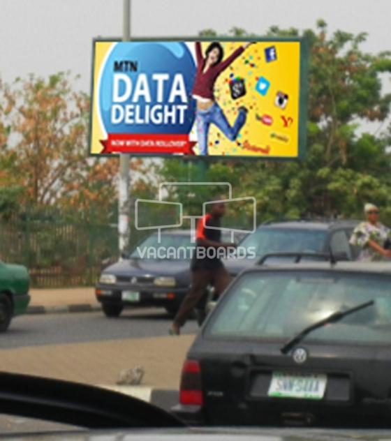 Backlit Billboard – kashim Ibrahim Way, Abuja