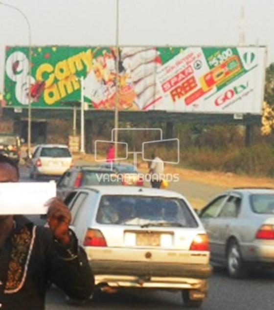 Ultrawave Billboard – Murtala Mohammed Way, Abuja