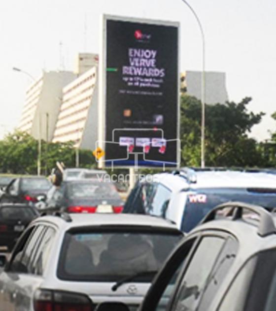 LED Billboard – Memorial Drive, Sheraton Hotel, Abuja