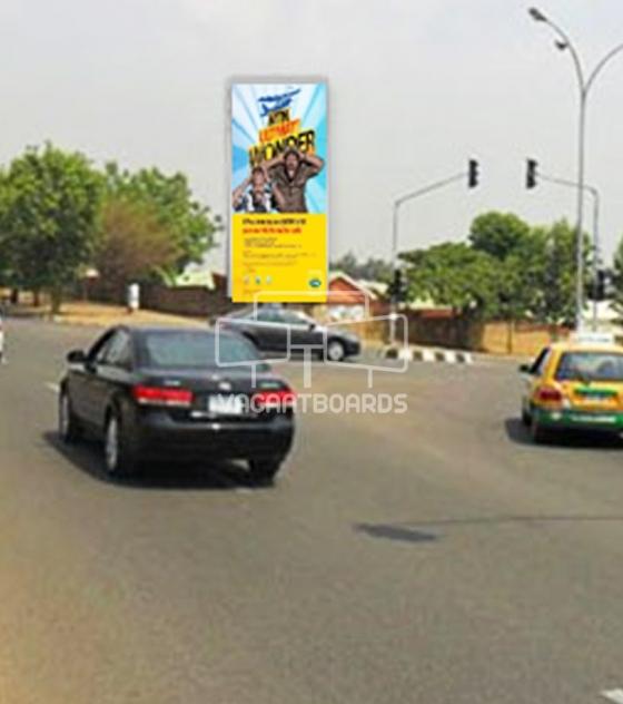 Portrait Unipole – Aminu Kano Crescent, Abuja