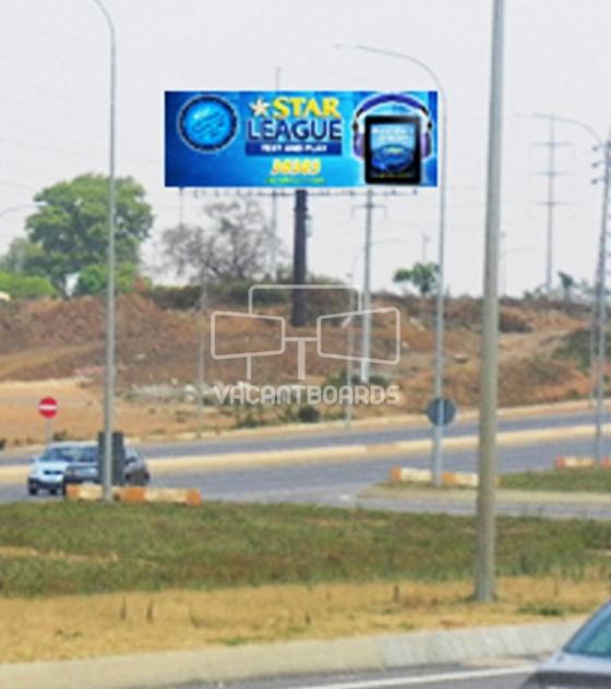 Landscape Unipole – Dantata Bridge, Airport Road, Abuja