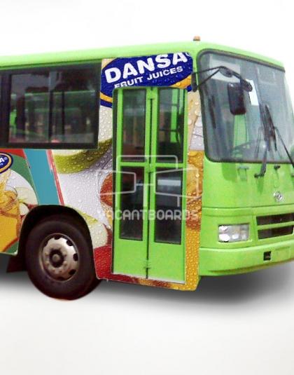 BRT Transit Advertising - Ring Road-Barracks, Edo