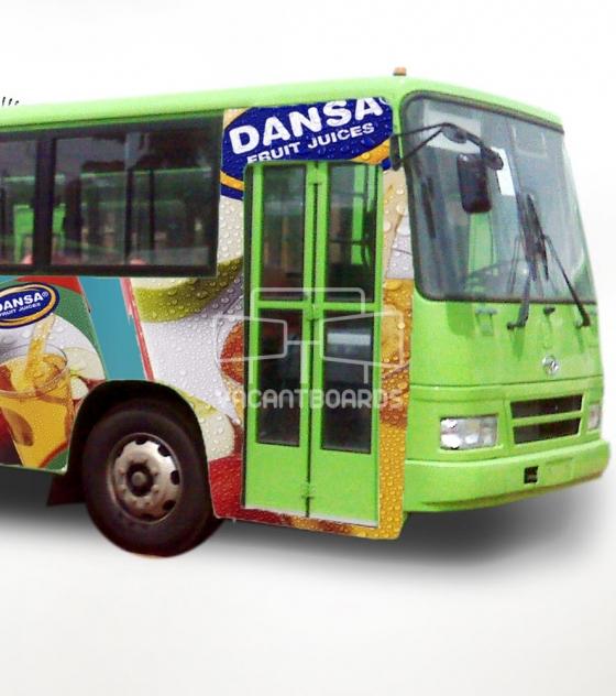 BRT Transit Advertising – Ring Road-Barracks, Edo