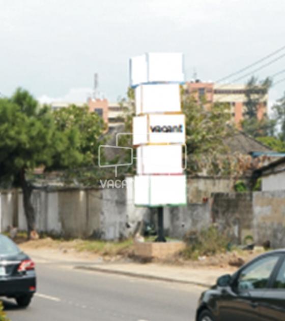 Stacked Cube Billboard – Kingsway Road Osbourne, Lagos