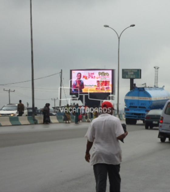 LED Billboard – Head Bridge Onitsha, Anambra