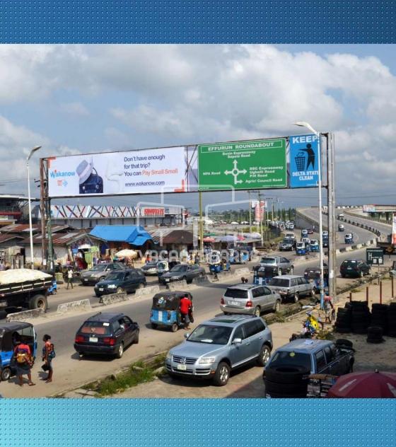 Warri Gantry Billboard