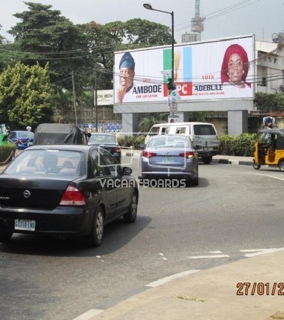 96 Sheet Billboard – Onikan Roundabout Lagos Island, Lagos