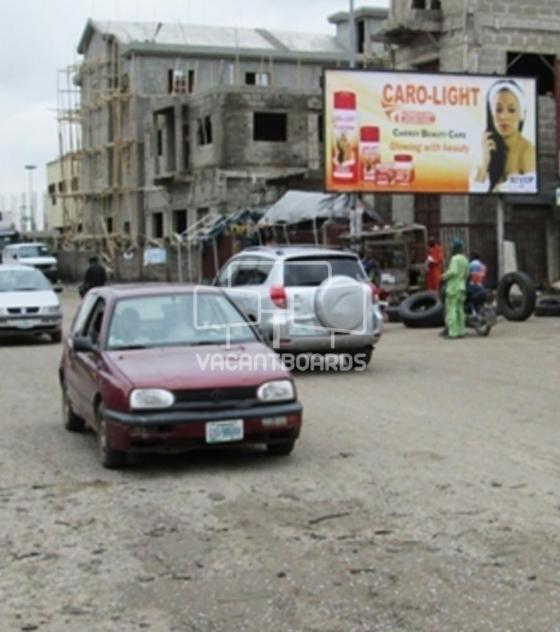 48 Sheet Billboard – Trade Fair Complex, Lagos