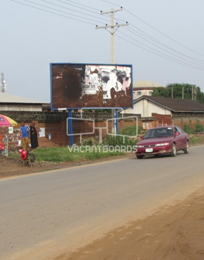 48 Sheet Billboard - Industrial Road Aba, Abia