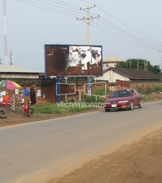 48 Sheet Billboard – Industrial Road Aba, Abia