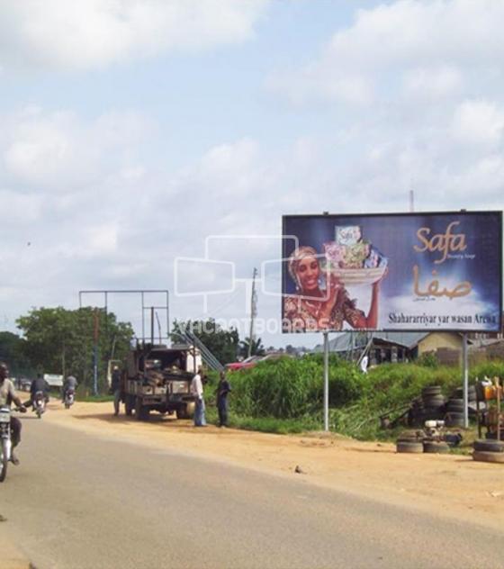 48 Sheet Billboard – Suleja Minna Road Minna, Niger