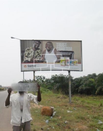 48 Sheet Billboard - LASU Road, Lagos