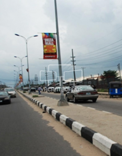 Lamp Post - Refinery Road Warri, Delta
