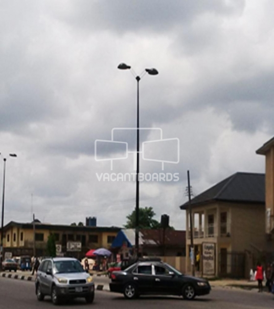 Lamp Post – Jakpa Road Warri, Delta
