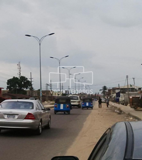 Lamp Post – Ekpan Road Warri, Delta