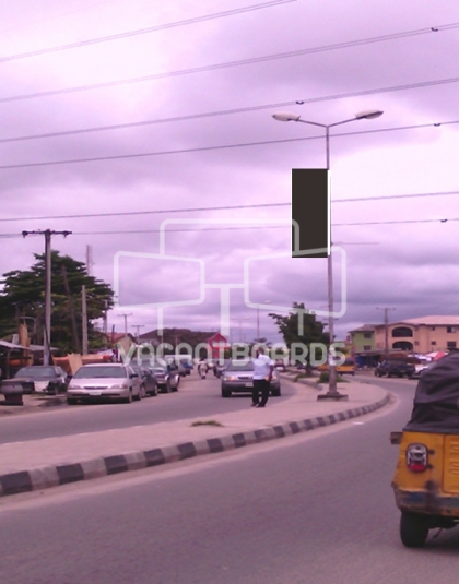 Lamp Post - Ado Road Badore, Ajah, Lagos