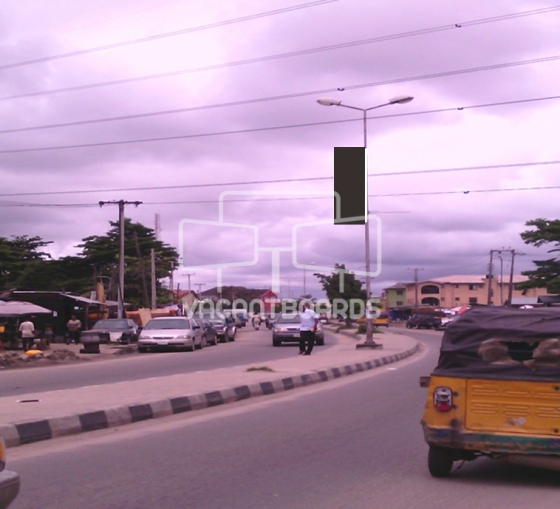 Lamp Post – Ado Road Badore, Ajah, Lagos