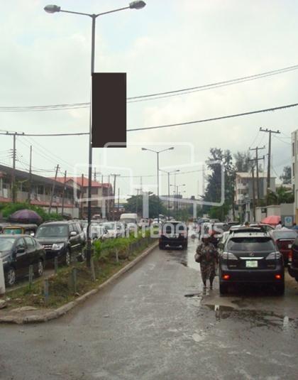 Lamp Post - Muri Okunola, Victoria Island, Lagos