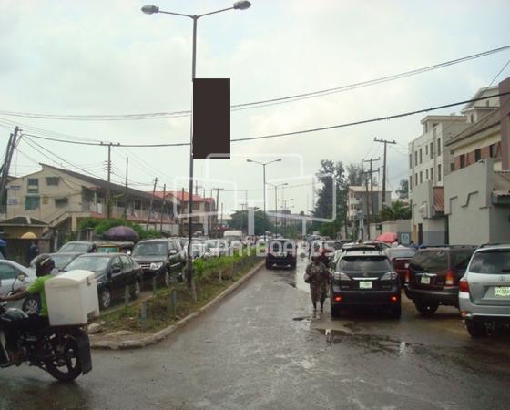 Lamp Post – Muri Okunola, Victoria Island, Lagos