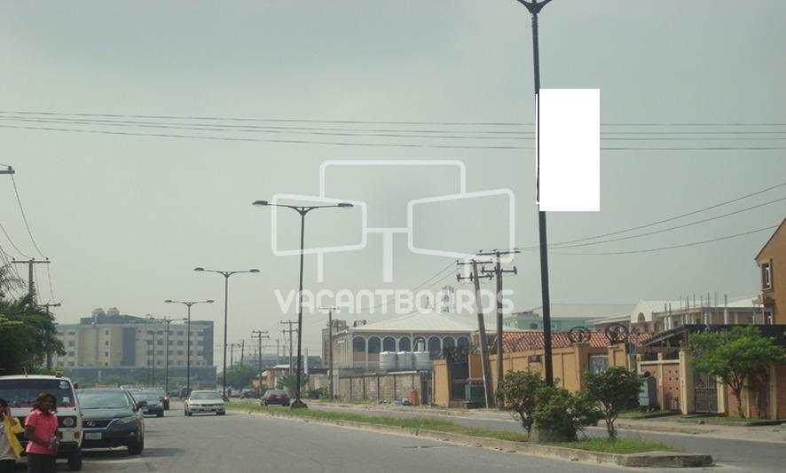 Lamp Post - Babatunde Tinubu Road, Lekki, Lagos