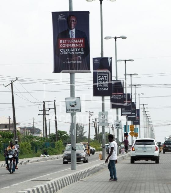 Lamp posts – Freedom Way, Lekki, Lagos