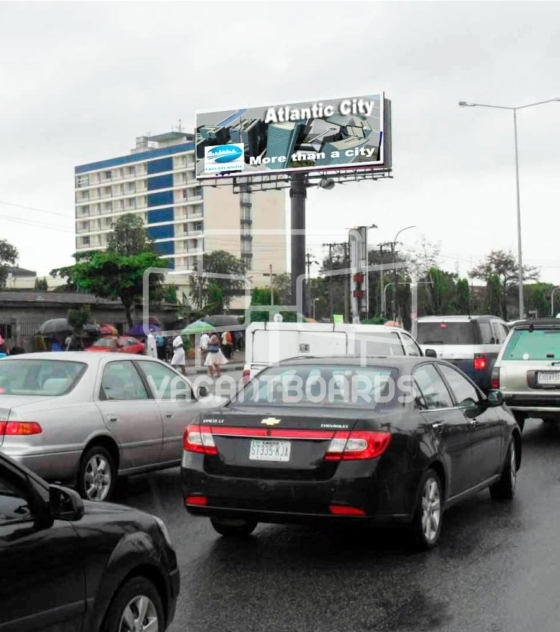 Unipole Billboard – Hotel Presidential, Aba Port Harcourt Road, Port Harcourt