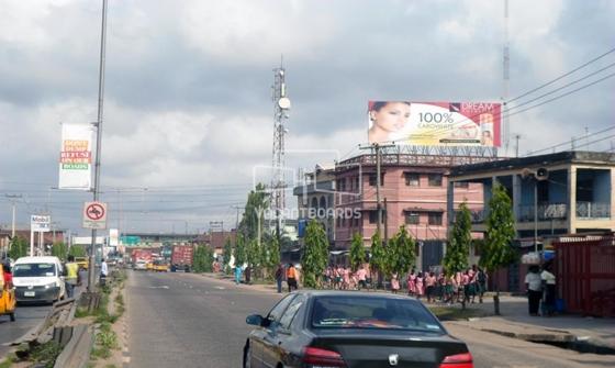 Rooftop Billboard – Agege Motor Road, Lagos