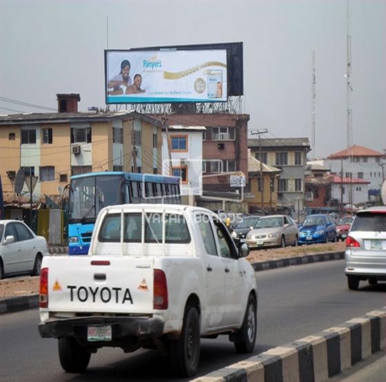 Rooftop Billboard – Ikorodu Road, Lagos